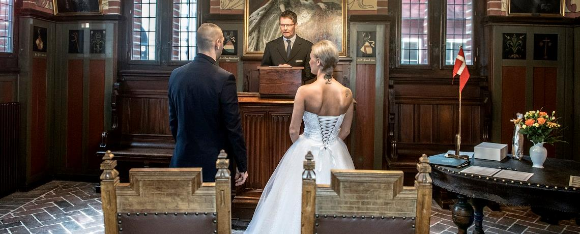 Celebrate your special day at Det Gamle Rådhus (The Old Town Hall)