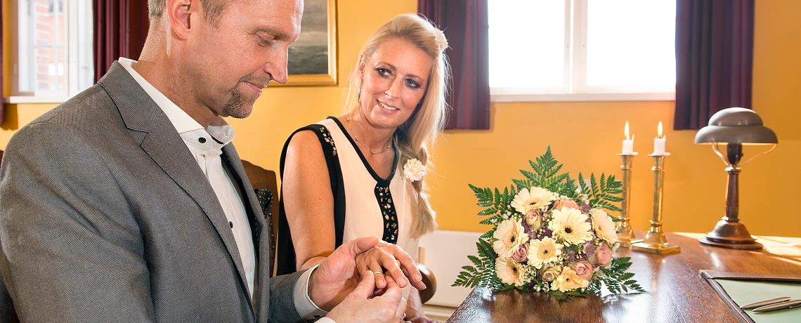 Celebrate your special day at the Gamle Ting- og Arresthus (The Old Town Hall)